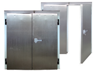 Двукрили хладилни врати