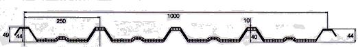 Поликарбонатен прозрачен панел - Покривни панели KOSCON Industrial S.A – Grecatec 250/40 – 10 мм 02