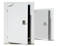 Топлоизолационни врати от панели - Еднокрили отваряеми врати 01