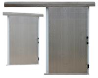 Плъзгащи хладилни врати с лека (C-профилна) греда