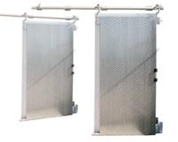 Плъзгащи хладилни врати с тежка (тръбна) греда