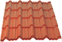 Thumb for Покривна ламарина от KAMARIDIS GLOBAL WIRE SA - Rooftile 01